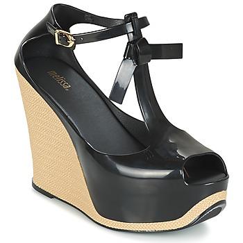 鞋子 女士 凉鞋 Melissa 梅丽莎 PEACE VI 黑色 / 米色