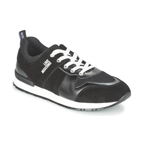 鞋子 女士 球鞋基本款 Love Moschino JA15062G13 黑色