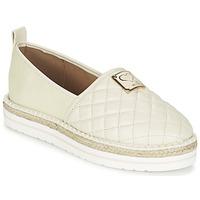 鞋子 女士 帆布便鞋 Love Moschino JA10093G13 奶油色