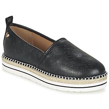 鞋子 女士 帆布便鞋 Love Moschino JA10113G13 黑色