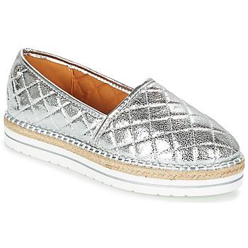 鞋子 女士 帆布便鞋 Love Moschino JA10313G03 银灰色
