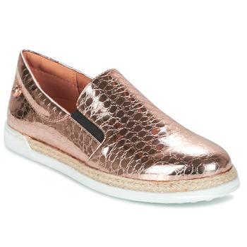 鞋子 女士 平底鞋 Love Moschino JA10353G03 金色 / 玫瑰色