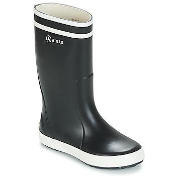 鞋子 儿童 雨靴 Aigle LOLLY POP 海蓝色 / 白色