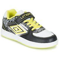 鞋子 男孩 球鞋基本款 Umbro 茵宝 COGAN 黑色 / 白色 / 黄色