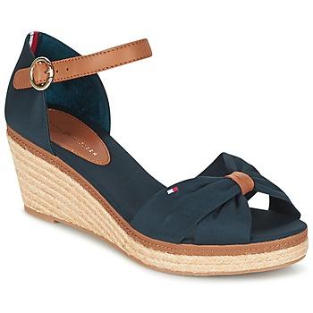 鞋子 女士 凉鞋 Tommy Hilfiger ELBA 40D 海蓝色 / 棕色