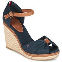鞋子 女士 凉鞋 Tommy Hilfiger ELENA 56D 海蓝色 / 棕色