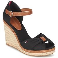 鞋子 女士 凉鞋 Tommy Hilfiger ELENA 56D 黑色 / 棕色