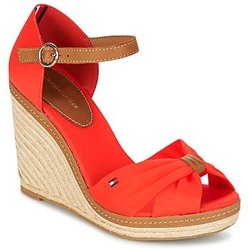 鞋子 女士 凉鞋 Tommy Hilfiger ELENA 56D 珊瑚色 / 棕色