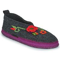 鞋子 女士 拖鞋 Giesswein TANGERHÜETTE -煤灰色