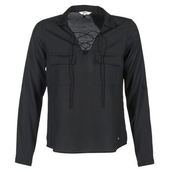 衣服 女士 衬衣/长袖衬衫 Kaporal ALDA 黑色