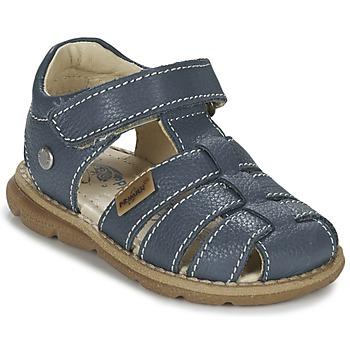 鞋子 男孩 凉鞋 Primigi PLAY D 蓝色