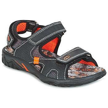鞋子 男孩 凉鞋 Primigi PACIFIC 黑色