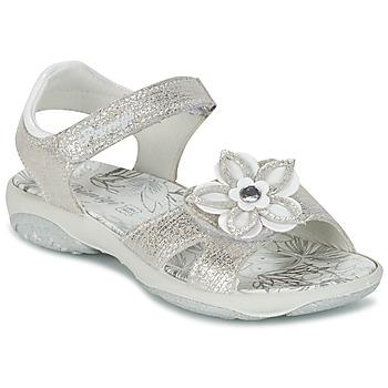 鞋子 女孩 凉鞋 Primigi BREEZOU 银色