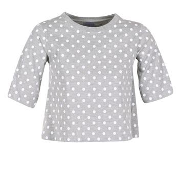 衣服 女士 短袖体恤 Compania Fantastica EPOITATI 灰色 / 白色