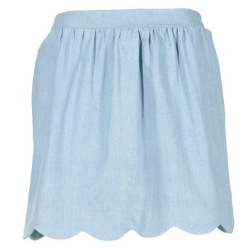 衣服 女士 半身裙 Compania Fantastica EFESTONA 蓝色 / 天蓝