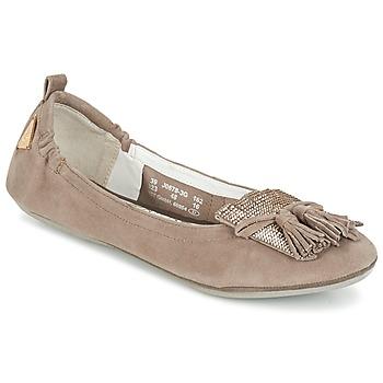 鞋子 女士 平底鞋 Bugatti MONATE 灰褐色