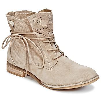鞋子 女士 短筒靴 Bugatti REGATE 米色