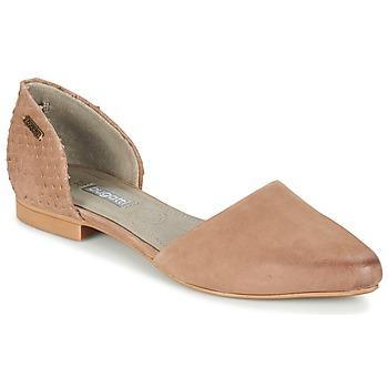 鞋子 女士 平底鞋 Bugatti GANOLETE 灰褐色