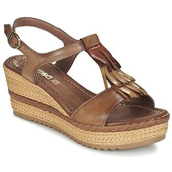 鞋子 女士 凉鞋 Samoa DREDU 棕色