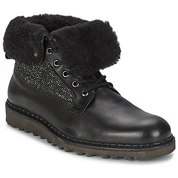鞋子 男士 短筒靴 Nobrand STREET 黑色