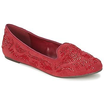 鞋子 女士 皮便鞋 Moony Mood LUDIA 红色