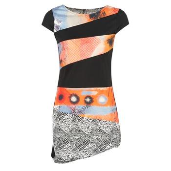 衣服 女士 短裙 Smash SERPENS 黑色 / 橙色 / 灰色