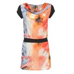 衣服 女士 短裙 Smash CITRON 橙色 / 黑色