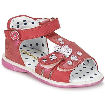 鞋子 女孩 凉鞋 Catimini PUCE 玫瑰色