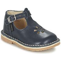 鞋子 女孩 平底鞋 Aster BIMBO 蓝色