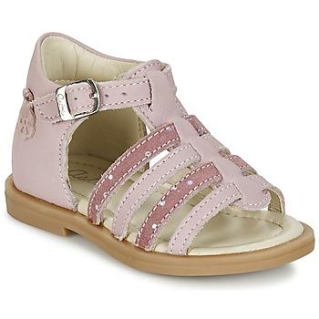 鞋子 女孩 凉鞋 Aster MINIONE 玫瑰色