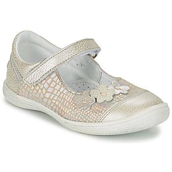 鞋子 女孩 平底鞋 GBB PRATIMA 灰色 / 银灰色