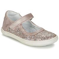 鞋子 女孩 平底鞋 GBB PLACIDA 玫瑰色 / 金色