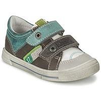 鞋子 男孩 球鞋基本款 GBB PHIL 灰色 / 绿色