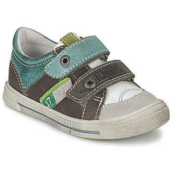 鞋子 男孩 球鞋基本款 GBB PHIL 白色-綠色 / 雪白色