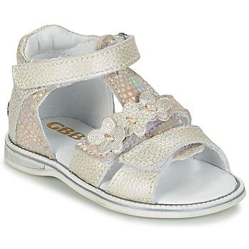 鞋子 女孩 凉鞋 GBB PING 灰色 / 银灰色