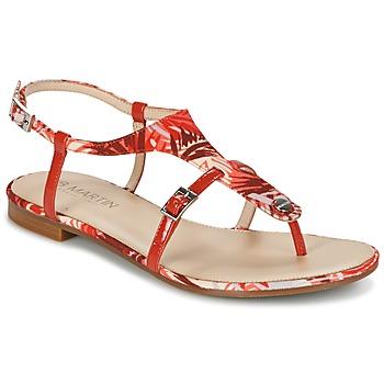 鞋子 女士 凉鞋 JB Martin GAELIA 红色 / Tropical