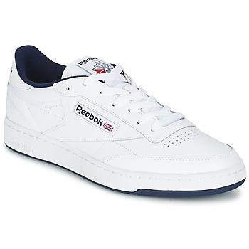 鞋子 球鞋基本款 Reebok Classic CLUB C 85 白色 / 蓝色
