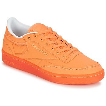 鞋子 女士 球鞋基本款 Reebok Classic CLUB C 85 CANVAS 橙色