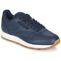 鞋子 男士 球鞋基本款 Reebok Classic CL LEATHER PG 蓝色