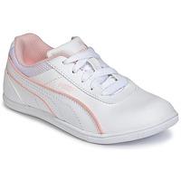 鞋子 女孩 球鞋基本款 Puma 彪马 JR MYNDY 2 SL.WHT 白色