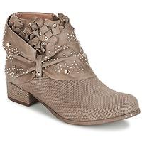 鞋子 女士 短筒靴 MIMMU STROPFA 灰褐色