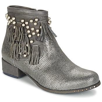 鞋子 女士 短筒靴 MIMMU MOONSTROP 灰褐色 / 银灰色