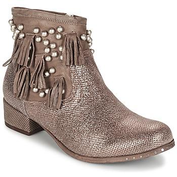 鞋子 女士 短筒靴 MIMMU MOONSTROP 棕色