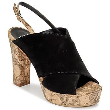 鞋子 女士 洞洞鞋/圆头拖鞋 Now PAPIRON 黑色