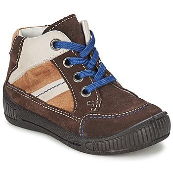 鞋子 男孩 短筒靴 Superfit  棕色