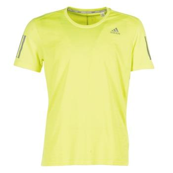 衣服 男士 短袖体恤 adidas Performance 阿迪达斯运动训练 RS SS TEE M 黄色