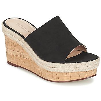 鞋子 女士 凉鞋 Esprit 埃斯普利 FARY MULE 黑色