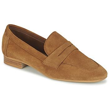 鞋子 女士 皮便鞋 Esprit 埃斯普利 ARIA LOAFER 驼色