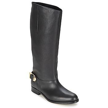 鞋子 女士 都市靴 Moschino Cheap & CHIC BUCKLE 黑色