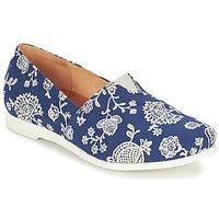 鞋子 女士 平底鞋 Think GRIVA 海蓝色 / 白色